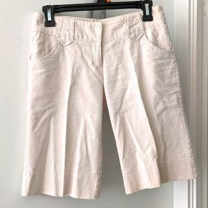 Costa Blanca Linen Cotton Shorts